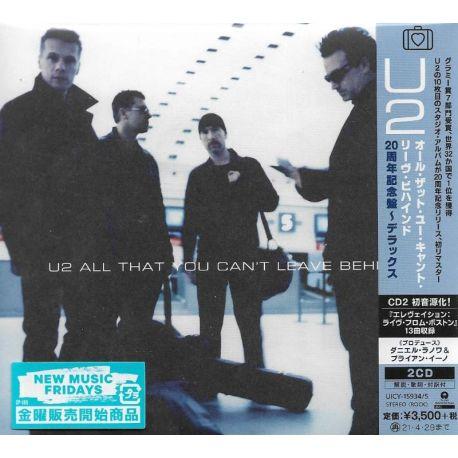 U2 - ALL THAT YOU CAN'T LEAVE BEHIND (2 CD) - WYDANIE JAPOŃSKIE