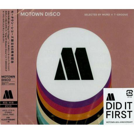 MOTOWN DISCO - SELECTED BY MURO X T-GROOVE (2 CD) - WYDANIE JAPOŃSKIE