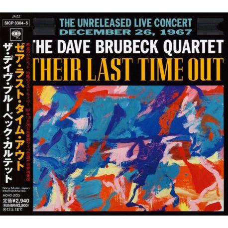 BRUBECK, DAVE QUARTET - THEIR LAST TIME OUT (2 CD) - WYDANIE JAPOŃSKIE