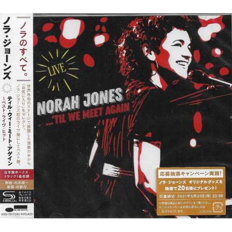 JONES, NORAH - ...'TILL WE MEET AGAIN (1 SHM-CD) - WYDANIE JAPOŃSKIE