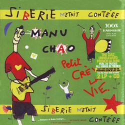 MANU CHAO - SIBERIE M'ETAIT CONTEEE (2 LP + CD)