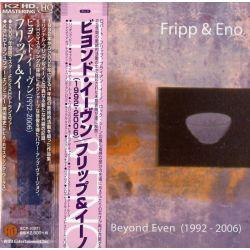 FRIPP & ENO - BEYOND EVEN (1992 - 2006) (1 K2HD HQCD) - WYDANIE JAPOŃSKIE