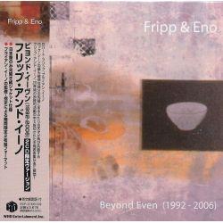 FRIPP & ENO - BEYOND EVEN (1992 - 2006) (2 CD) - WYDANIE JAPOŃSKIE