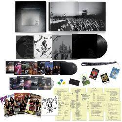 METALLICA - METALLICA (6 LP + 14 CD + 6 DVD) - DELUXE BOX REMASTERED 2021 - WYDANIE AMERYKAŃSKIE