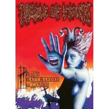 CRADLE OF FILTH - HEAVY LEFT-HANDED & CANDID (1 DVD)