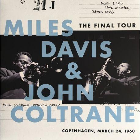 DAVIS, MILES & JOHN COLTRANE - THE FINAL TOUR: COPENHAGEN, MARCH 24, 1960 (1 LP) - WE ARE VINYL EDITION
