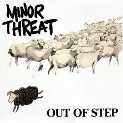 MINOR THREAT - OUT OF STEP (1 EP) - 45RPM - WYDANIE AMERYKAŃSKIE