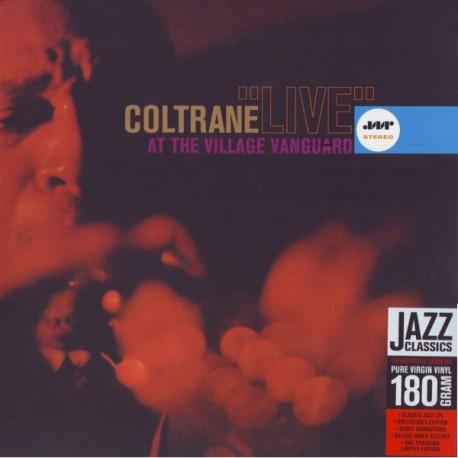 COLTRANE, JOHN - LIVE AT THE VILLAGE VANGUARD (1LP) - 180 GRAM PRESSING