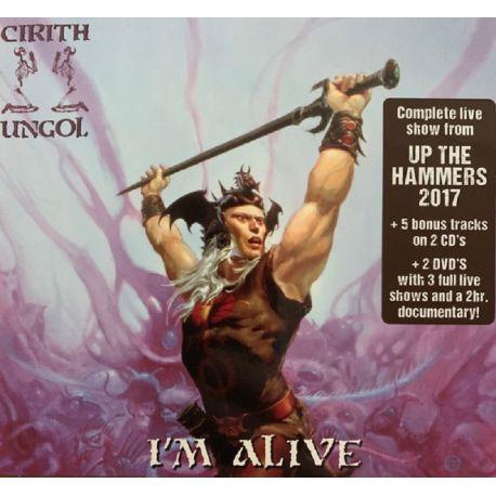 CIRITH UNGOL - I'M ALIVE (2 CD + 2 DVD)