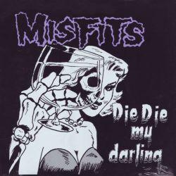"""MISFITS, THE - DIE DIE MY DARLING (12\"""" SINGLE) - WYDANIE AMERYKAŃSKIE"""