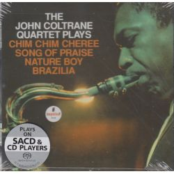 COLTRANE, JOHN - THE JOHN COLTRANE QUARTET PLAYS CHIM CHIM CHEREE SONG OF PRAISE NATURE BOY BRAZILIA (1SACD) - WYDANIE AMERYKAŃS
