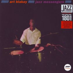 BLAKEY, ART - !!!!! JAZZ MESSENGERS !!!!! (1 LP) - JAZZ WAX EDITION - 180 GRAM PRESSING