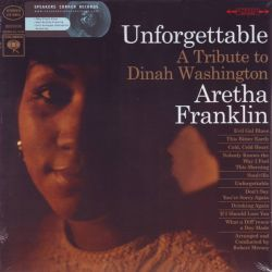 FRANKLIN, ARETHA - UNFORGETTABLE: A TRIBUTE TO DINAH WASHINGTON (1 LP) - 180 GRAM PRESSING