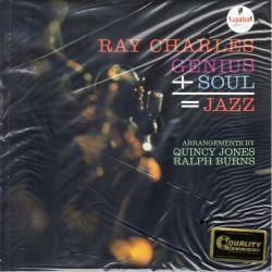 CHARLES, RAY - GENIUS+SOUL=JAZZ (1LP) - 200 GRAM PRESSING - WYDANIE AMERYKAŃSKIE