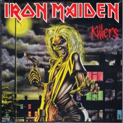 IRON MAIDEN - KILLERS (1 LP) - 2014 LIMITED EDITION 180 GRAM PRESSING