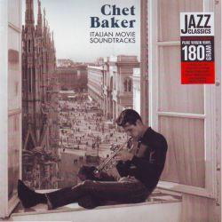BAKER, CHET - ITALIAN MOVIE SOUNDTRACKS (1LP) - 180 GRAM PRESSING