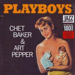 BAKER, CHET & PEPPER, ART - PLAYBOYS (1 LP) - WAX TIME EDITION - 180 GRAM PRESSING