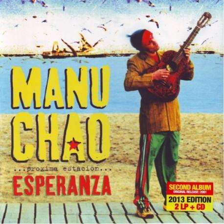 MANU CHAO - ESPERANZA ... PROXIMA ESTACION ... (2LP+CD)