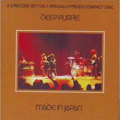 Deep Purple Made In Japan 1 Cd Wydanie AmerykaŃskie