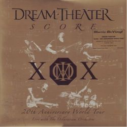 DREAM THEATER - SCORE: 20TH ANNIVERSARY WORLD TOUR (4LP) - MOV EDITION - 180 GRAM PRESSING