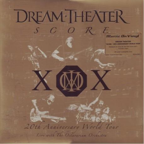 DREAM THEATER - SCORE: 20TH ANNIVERSARY WORLD TOUR (4LP) - MOV EDITION - 180 GRAM PRESSING