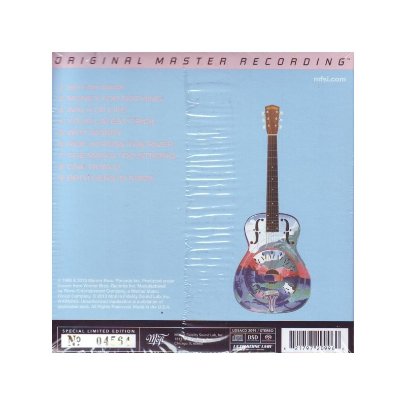 Dire Straits Brothers In Arms 1 Sacd Limitowana