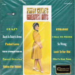 CLINE, PATSY - PATSY CLINE\'S GREATEST HITS (1LP) - ANALOGUE PRODUCTIONS EDITION - 200 GRAM PRESSING - WYDANIE AMERYKAŃSKIE