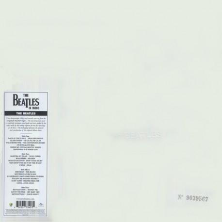 BEATLES, THE - THE BEATLES A.K.A. WHITE ALBUM (2LP) - [2014 MONO REMASTER] - 180 GRAM PRESSING