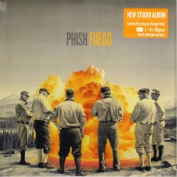 PHISH - FUEGO (2 LP + MP3 DOWNLOAD) - LIMITED EDITION ORANGE VINYL - WYDANIE AMERYKAŃSKIE