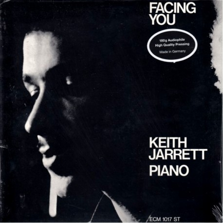 JARRETT, KEITH - FACING YOU (1LP) - 180 GRAM PRESSING