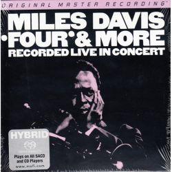 DAVIS, MILES - FOUR & MORE: RECORDED LIVE IN CONCERT (1 SACD) LIMITOWANA, NUMEROWANA EDYCJA MFSL - WYDANIE AMERYKAŃSKIE