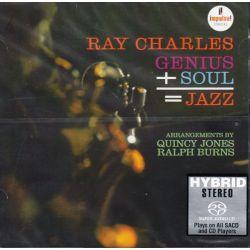 CHARLES, RAY - GENIUS SOUL JAZZ (1 SACD) - WYDANIE AMERYKAŃSKIE