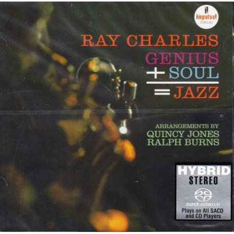 CHARLES, RAY - GENIUS+SOUL=JAZZ (1SACD) - WYDANIE AMERYKAŃSKIE