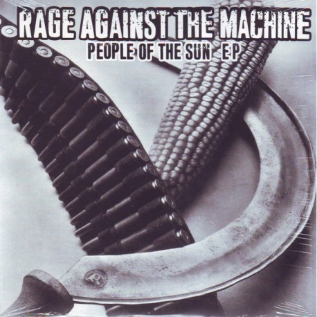 """RAGE AGAINST THE MACHINE - PEOPLE OF THE SUN (10\"""" EP)"""