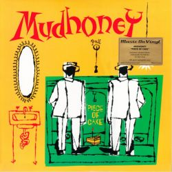 MUDHONEY - PIECE OF CAKE (1LP) - MOV EDITION - LIMITED NUMBERED RED VINYL 180 GRAM PRESSING