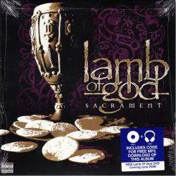 LAMB OF GOD - SACRAMENT (1 LP + MP3 DOWNLOAD) - WYDANIE AMERYKAŃSKIE