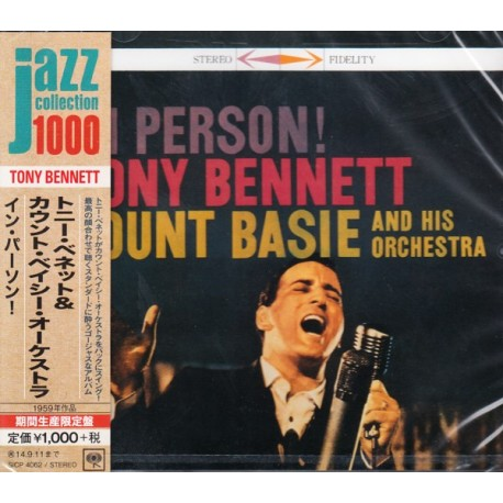 BENNETT, TONY WITH COUNT BASIE AND HIS ORCHESTRA - IN PERSON! - WYDANIE JAPOŃSKIE