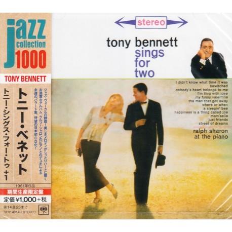 BENNETT, TONY - SINGS FOR TWO - WYDANIE JAPOŃSKIE