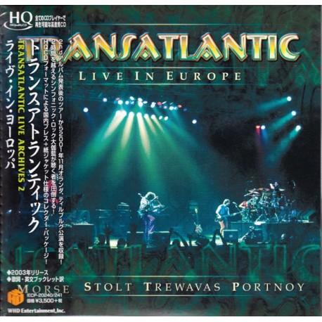 TRANSATLANTIC - LIVE IN EUROPE (2HQCD) - WYDANIE JAPOŃSKIE