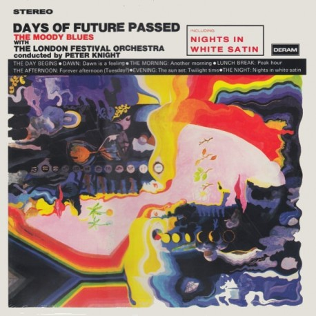 MOODY BLUES, THE - DAYS OF FUTURE PASSED (1LP) - 180 GRAM PRESSING - WYDANIE AMERYKAŃSKIE