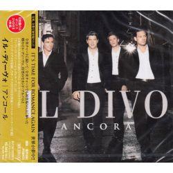 IL DIVO - ANCORA (1 CD + 1 DVD) - WYDANIE JAPOŃSKIE