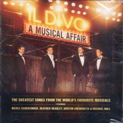 IL DIVO - A MUSICAL AFFAIR (1 BSCD2 / BLU-SPEC CD2) - [BRAK OBI] WYDANIE JAPOŃSKIE