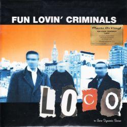 FUN LOVIN CRYMINALS - LOCO (2 LP) - MOV EDITION - LIMITED NUMBERED ORANGE 180 GRAM VINYL PRESSING