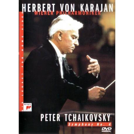 KARAJAN, HERBERT VON + WIENER PHILHARMONIKER - P. CZAJKOWSKI - SYMPHONY NO. 4
