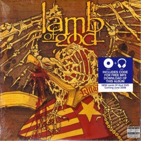 LAMB OF GOD - KILLADELPHIA (2LP+MP3 DOWNLOAD) - WYDANIE AMERYKAŃSKIE